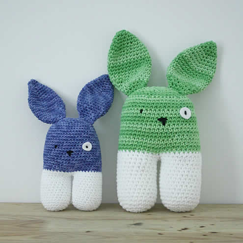 Crochet bunnies | Gehaakte konijntjes | Happy in Red