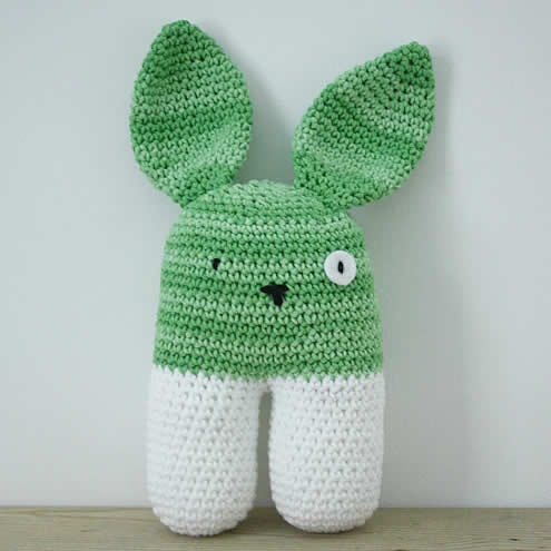 Crochet bunny | Gehaakt konijntje | Happy in Red