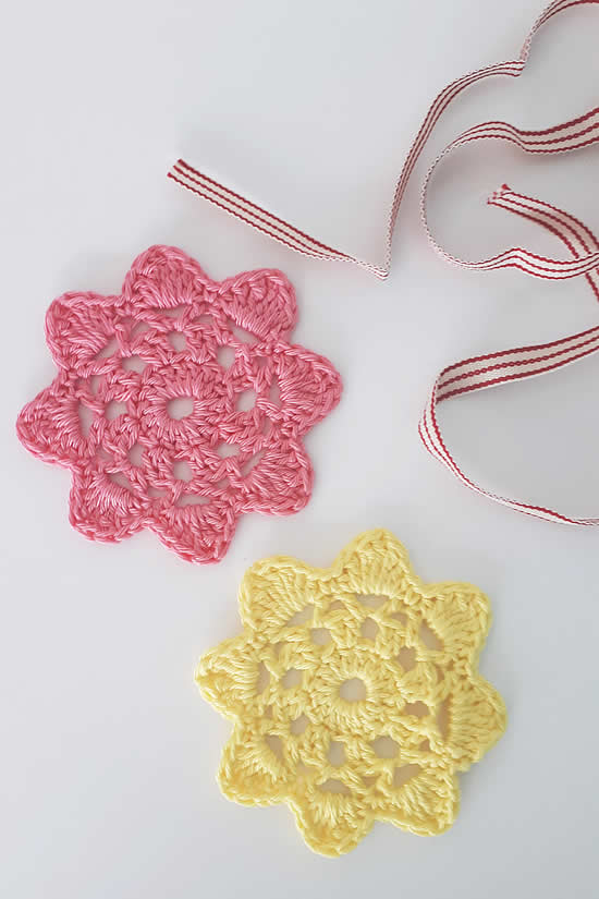 Crochet flower pattern. Crochet flower pattern free | Happy in Red