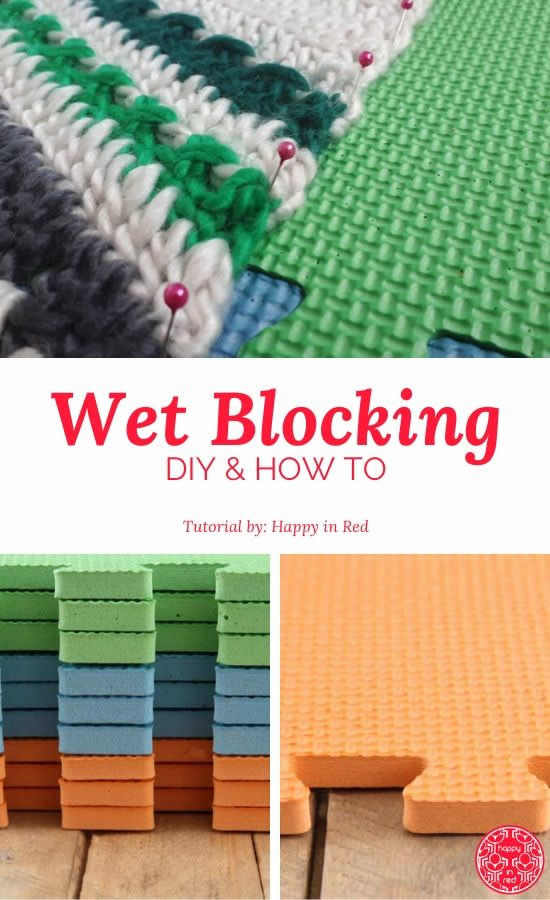 How to wet block your crochet | Hoe wet block je je haakwerk