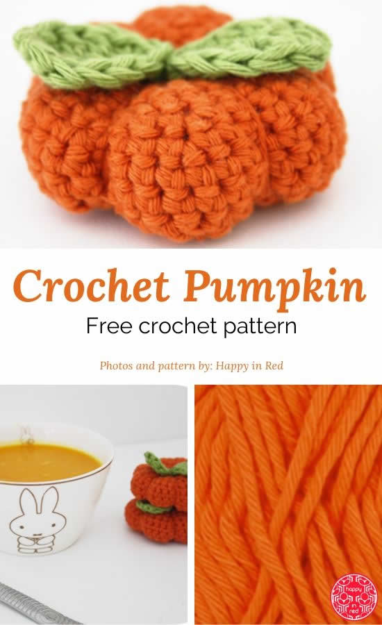 Crochet pumpkin pattern | Free crochet pattern crochet pumpkin