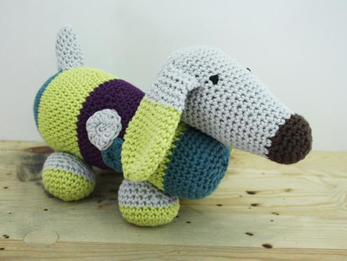 Crochet dachshund | Amigurumi tips | Gehaakt hondje