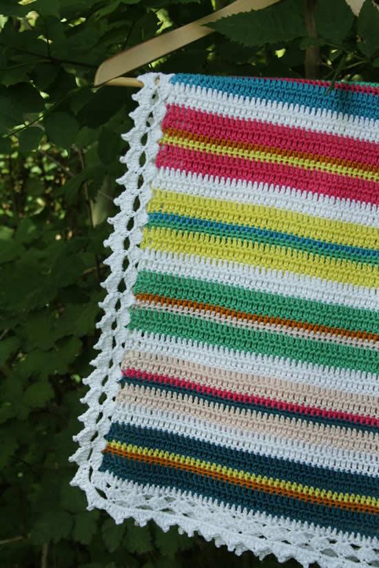 Crochet blanket for beginners | Baby blanket crochet beginner | Happy in Red