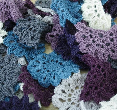 Crochet Japanese Flowers | Scheepjes Alpaca Rhythm
