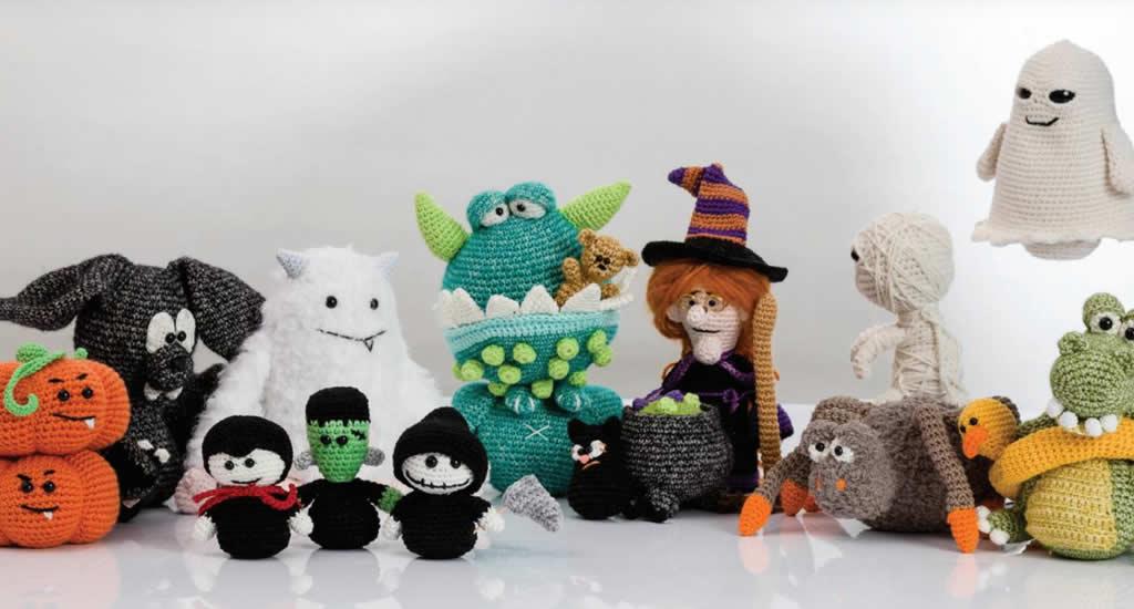 Halloween crochet, Amigurumi & Monsters door Tessa van Riet-Ernst