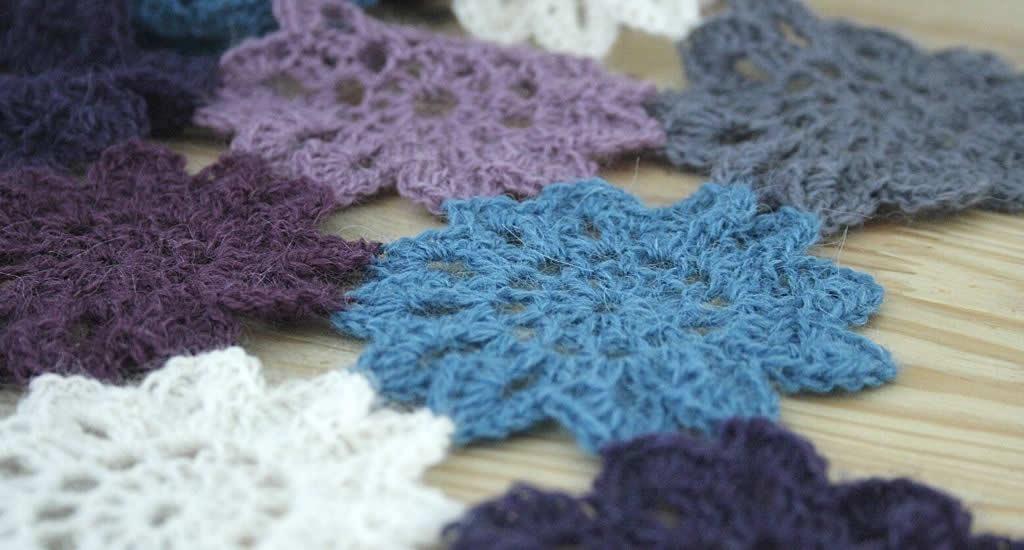 Crochet Japanese flowers | Happy in Red