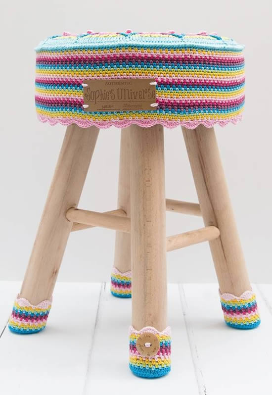 Sophie's Stool Kit | Happy in Red