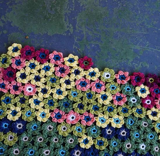 Crochet temperature blanket | Happy in Red | Temperatuur deken haken