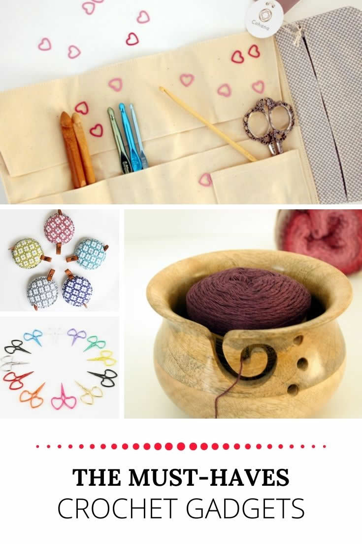 Crochet gadgets | Must-have guide of crochet gadgets | Happy in Red