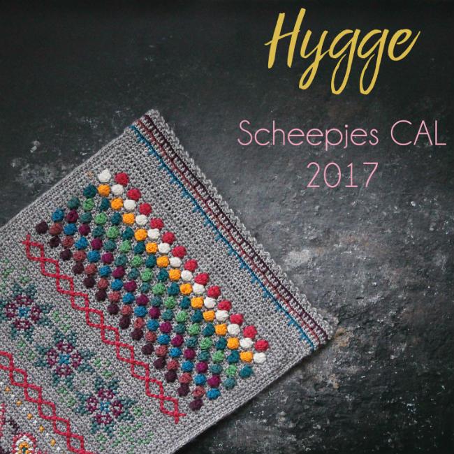 Scheepjes CAL 2017 Jewel kit | Happy in Red