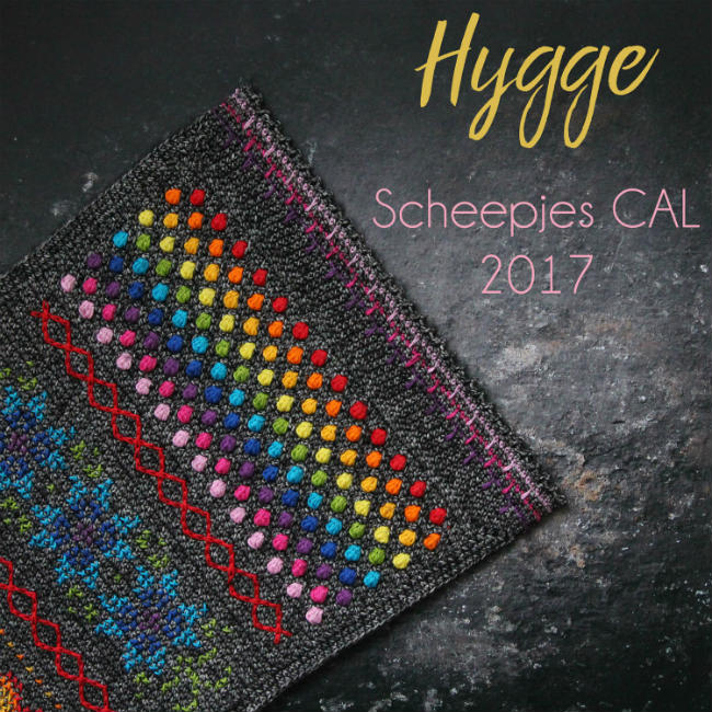 Hygge CAL Rainbow kit | Happy in Red