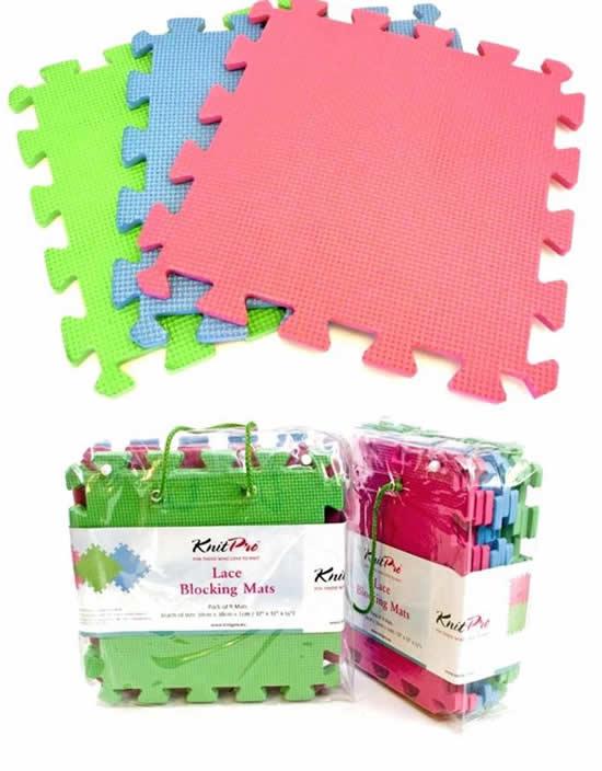 Crochet gadgets, blocking mats | Happy in Red
