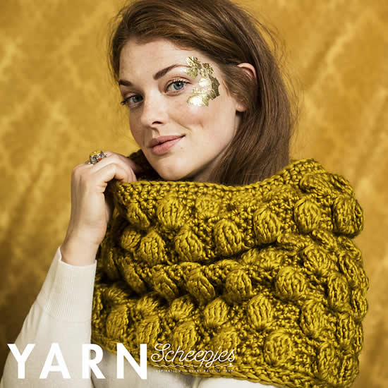 Spice Market Snoot, Scheepjes Yarn bookazine 8 (Tearoom) | Happy in Red