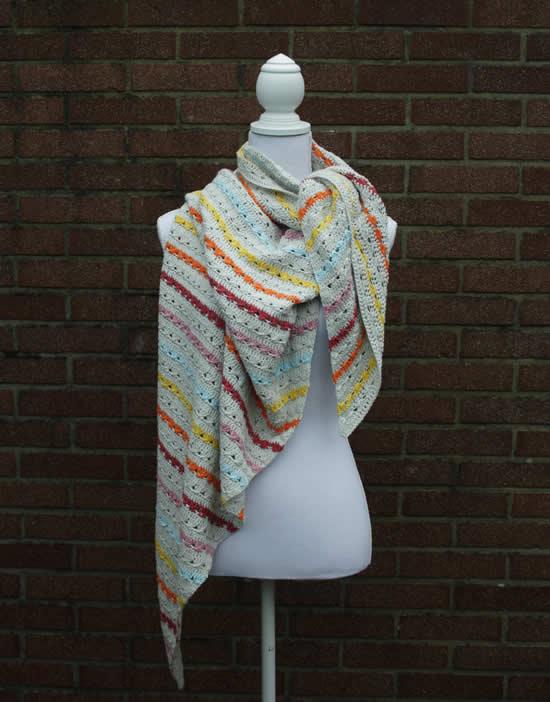Crochet cable stitch   Crochet cable stitch shawl, crochet pattern by Happy in Red