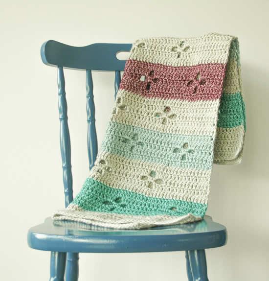 Scheepjes Stonewashed XL | Crochet blanket Scheepjes Stonewashed XL | Happy in Red