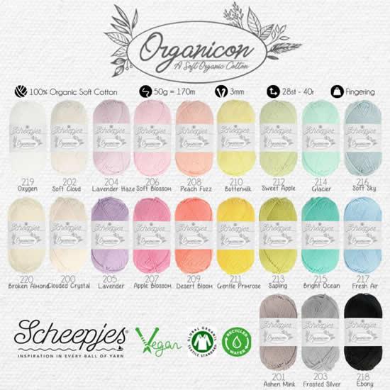 Scheepjes Organicon: eco friendly yarn, vegan yarn | Happy in Red